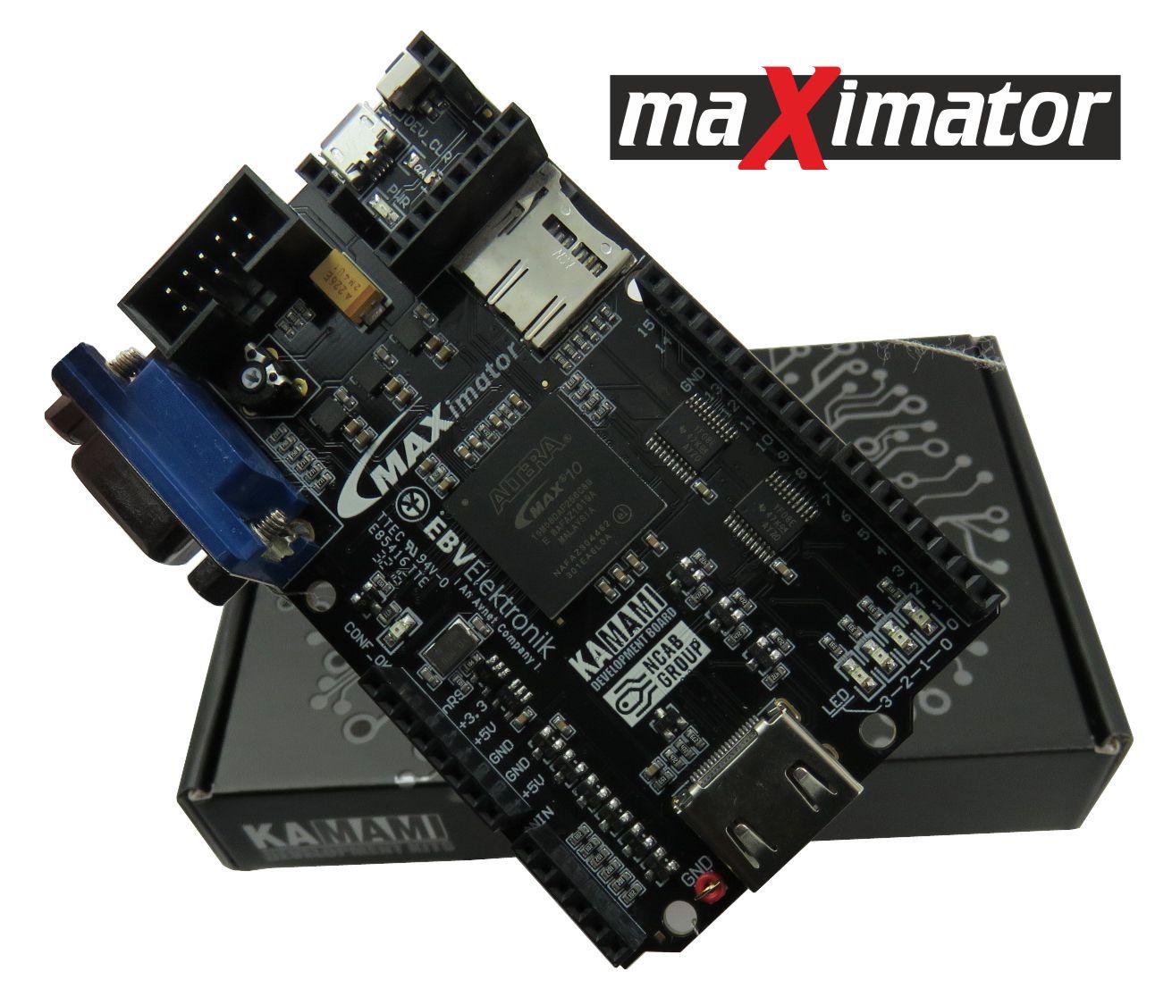 maXimator - Altera MAX10 FPGA development board
